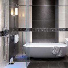 Stone baths make the best feature #Moda #modabaths by acsbathrooms #bathroomremodeling #bathroomdesign #bathroomideas