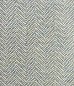 Banff Lambswool Fabric 100% Lambswool Upholstery fabric. A Chevron wool fabric in Aqua and Cream.