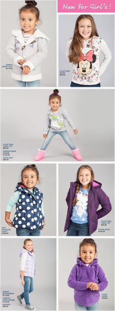Pick n Pay Girls Clothing - Pick n Pay She will stay warm and cute this winter with this new range, You can discover little girls winter clothing at the finest quality. Winter Outfits For Girls, Kids Outfits, Stay Warm, Kids Clothing, Cosy, Little Girls, Latest Trends, Dressing, Range
