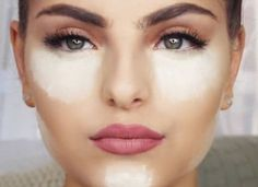 """Baking или """"запекание"""" макияжа: крем под глаза, основу под макияж, тональный крем, консилер, пудру - именно в такой последовательности, чтобы тон кожи выглядел идеально"""