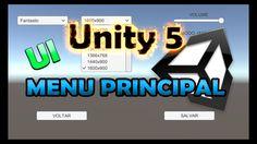 TUTORIAL UNITY 5 - MENU PRINCIPAL (Unity 5.3 ou superior) (UI)