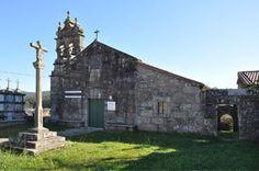 Coruña San Martiño de Ozón  Se trataría de un antiguo monasterio que quizá entre los siglos XII y XIII se convirtió en priorato de San Paio de Antealtares.