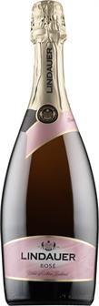"""Lindauer Rosé kuohuviini 12,79 € """"Häkellyttävän hyvä hintaansa nähden. Paras roseekuohuviini alle 20 euron."""""""