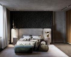 MOPS / Bathroom and Master bedroom on Behance Luxury Bedroom Design, Master Bedroom Interior, Modern Master Bedroom, Bedroom Bed Design, Home Room Design, Luxury Home Decor, Home Decor Bedroom, Luxury Homes, Interior Design