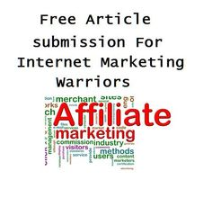 Free Article submission For Internet Marketing Warriors    http://makemoneyonlinebizz.com/articles/