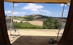 Le Marche! Huis op de heuvel - Minicamping & Appartementen in Italie, camping, kamperen, casa del poggio, vakantie