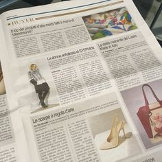 Thanks to @corrieredellasera for this #article on Monday issue  From now on you can find us on @buyermagazine too , a #fashion specialised #magazine.