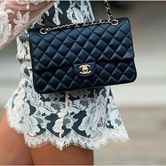 823e79d0bf2e Check out prices, sizes, size comparisons and colors for the Chanel Classic  Flap Bag.
