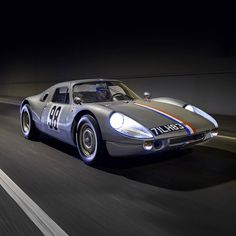 The #Porsche #904 #GTS #083 featuring in next weeks #Classic&SportsCar magazine. Great photo by Tim Scott #fluidimages - The car was upgraded in 1964 to series 2 specification (as per 6 cylinder 904s) with a strengthened chassis short doors windup windows a central fuel filler and a Kamm tail. From that point forwards the car led a successful and active life of competition until it was retired in 1968. Left in original time warp condition until the 90s this example was very correctly and…