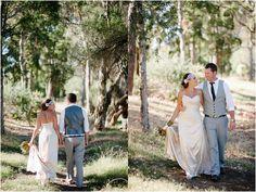 Western Australian bush wedding