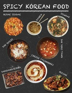 Korea's most famous spicy dishes are to die for! Especially if you're a fan of heat in your food!