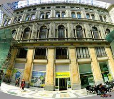 Galleria Umberto-Napoli, Nikon Coolpix L310, 4.5mm,1.100s,ISO80,f/3.1,panorama mode: segment 4, 201507131544