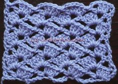 How to crochet the Tulip Crochet Stitch - Coolorful.com