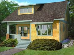 Plan 50114PH: Efficient Bungalow with Main Floor Master