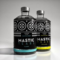 Mastic Tears Liqueur on Packaging of the World - Creative Package Design Gallery