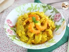 Curry cu creveti si lapte de cocos - Rețetă Petitchef