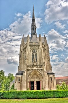Heinz Cathedral by Photomatt28, via Flickr University of Pittsburgh, Pittsburgh, Pennsylvania