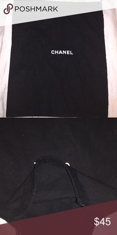 Chanel Dust Bag 13x16 Excellent Condition Chanel Bags