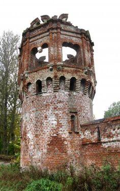 La Haute Tour du Monastère Fiodorovsky - Pouchkine - Construit de 1913 à 1918 par l'architecte Stepan Krichinsky.