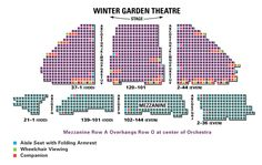 Radio city music hall seating chart with seat numbers - Winter garden theater seating chart ...
