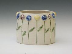 Flower Garden Ceramic Art by Sylvia Shirley - Flower Garden Fine Art ...