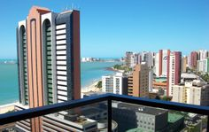 Stand out on your balcony and take in the sights, sounds, and smells of #Brazil.  Stay in #Fortaleza this summer for the 2014 FIFA #WorldCup with Vakast