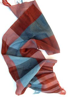 Canzone: handwoven cotton scarf