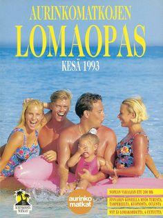 #Aurinkomatkat lomaopas kesä 1993 #retro