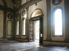 pazzi chapel interior - Google Search