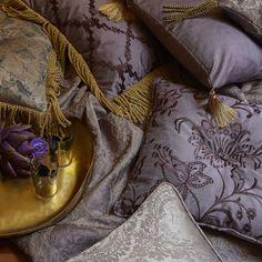 Venetian Cam 5 Prestigious Textiles, Venetian, Vignettes, Moccasins, Projects To Try, Flats, Pillows, Cover, Tassel