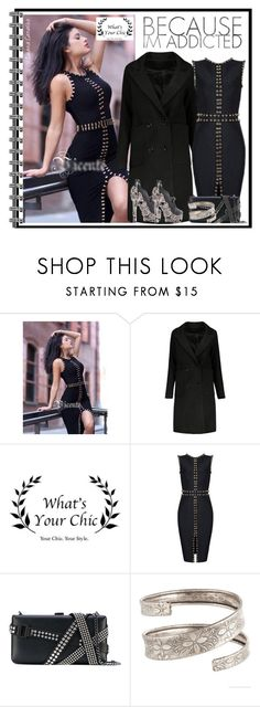 """""""Look 156"""" by luanacarvalho ❤ liked on Polyvore featuring Dsquared2, HADES, BlogMeuestiloe and WhatsYourchic"""