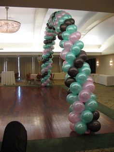 Balloon Archway by www.idealpartydecorators.com
