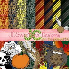 Return to Hogwarts Harry Potter Digital Scrapbooking by jcsweetpea, $6.50