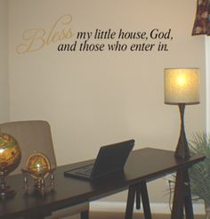 Bless My Little House | Wall Decals - Trading Phrases
