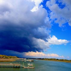 Storm blowing by 3/25/2011(crystal coast, NC)
