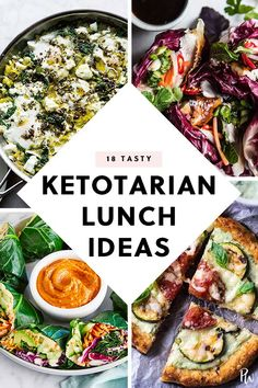 18 Easy and Tasty Ketotarian Lunch Recipes Because You re Healthy Like That purewow lunch food vegetarian easy recipe ketogenic Low Carb Vegetarian Recipes, Pescatarian Recipes, Ketogenic Recipes, Lunch Recipes, Diet Recipes, Healthy Recipes, Vegetarian Food, Vegetarian Italian, Recipes Dinner