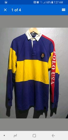 35 Best Vintage Rugby Shirts images   Rugby shirts, Golf shirts ... b1c796b97e