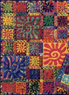 adinkra quilt | Found on glendalequiltguild.org