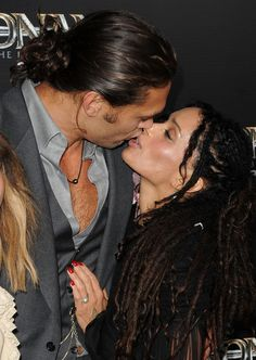 "Jason Momoa and Lisa Bonet - Premiere Of Lionsgate Films' ""Conan The Barbarian"" - Arrivals"