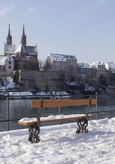Winter in Basel, Switzerland