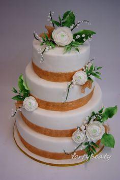 torty i nie tylko - Żyrardów: Tort ślubny