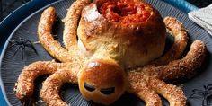 Spin a web of doughy deliciousness with this party-perfect Halloween appetizer.