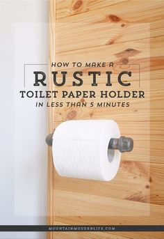 Looking to add character to your bathroom? See how you can make this rustic…