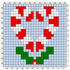 The Craft Co.: Crochet Charts. Hay más patrones, animalitos y motivos navideños