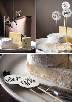 DIY: Habiller votre buffet de fromages... - Organiser un mariage