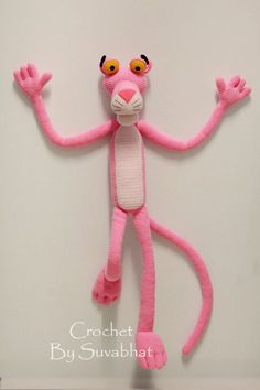 Amigurumi Free Pattern Pink Panther : Pink Panther Amigurumi - Free crochet pattern by Edward ...