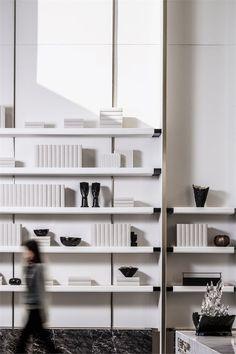 Cabinet Decor, Cabinet Furniture, Home Decor Furniture, Furniture Design, Steel Furniture, Shelf Design, Cabinet Design, Wall Design, Home Office