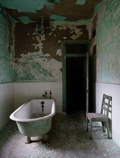 *Abandoned...no more bathing here..