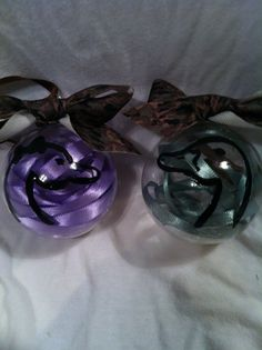 Duck Hunting Ornament set