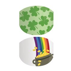 Pot O' Gold   Jamberry. Have the best of two worlds with this fun set. These Jamberry Juniors wraps feature green clovers and rainbows for the perfect look. abettineski.jamberry.com